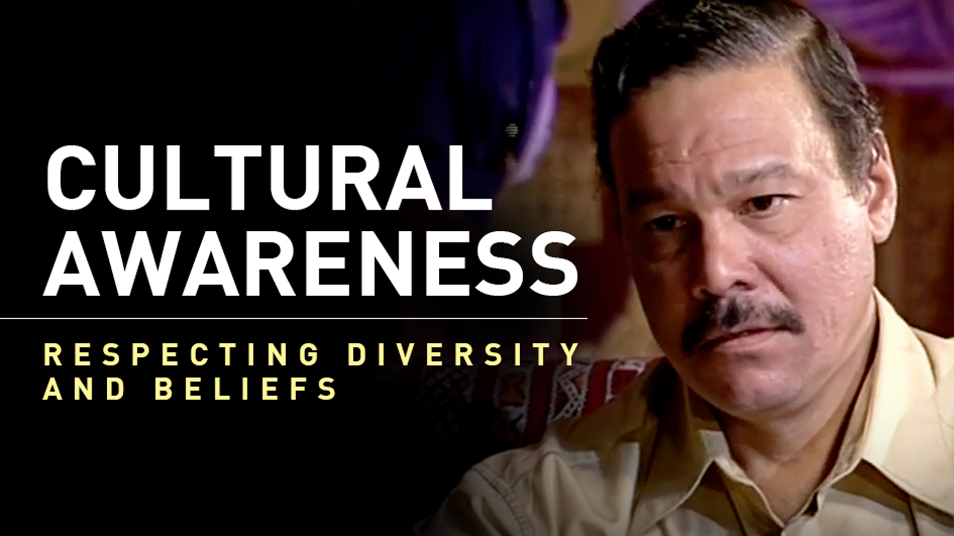 Cultural Awareness Respecting Values and Beliefs