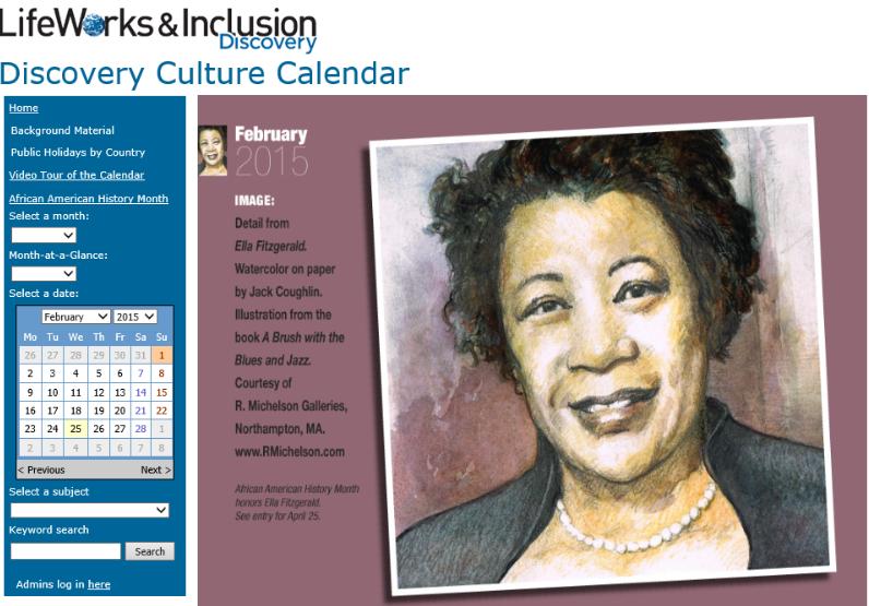 Discovery Custom Calendar