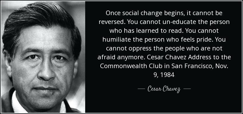Cesar Chavez birthday
