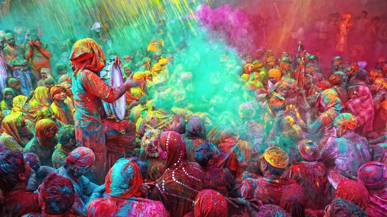 Holi Hindu Festival 2018