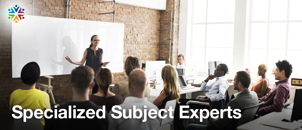 Specialized Subject Experts