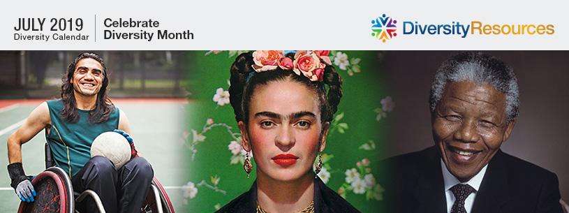 July 2019 Diversity Calendar
