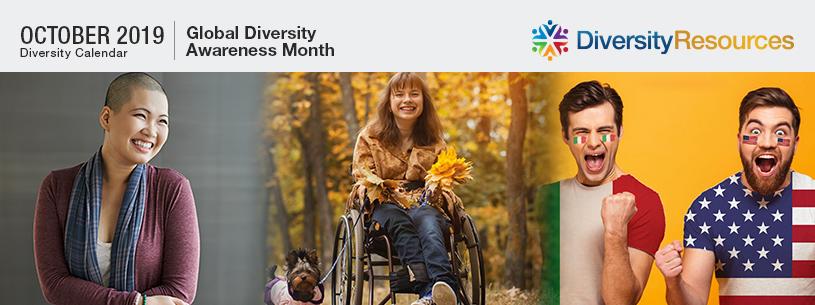 October 2019 Diversity Calendar