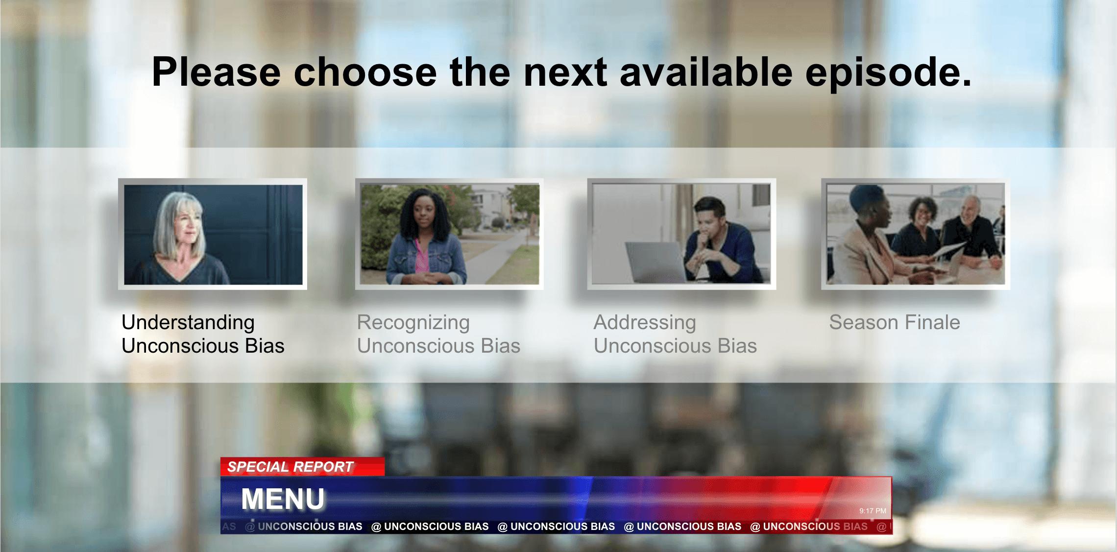 Unconscious bias e-learning course